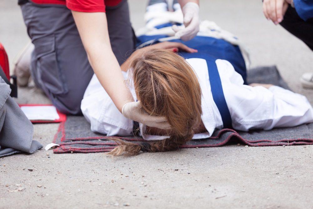 Ongeval werkvloer