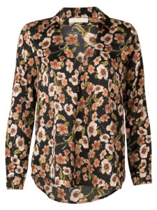Blouse Flowertree Black