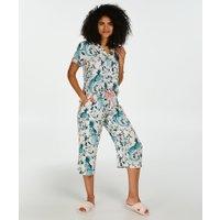 Hunkemöller Pyjamabroek Capri Woven Roze