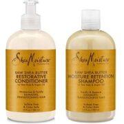 5. Shea Moisture Raw Shea Butter Restorative Shampoo