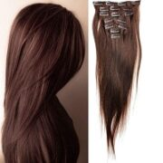 1. Beauty24 Clip in extensions human hair straight