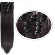 10. CrownQueens Synthetic Clip-In Hairextensions