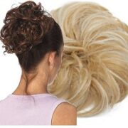 4. Curly Haar Wrap Extension Zand