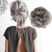 6. HairGuru Curly Hair Wrap Extension