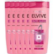 3. L'Oréal Paris Elvive Nutri Gloss Shampoo