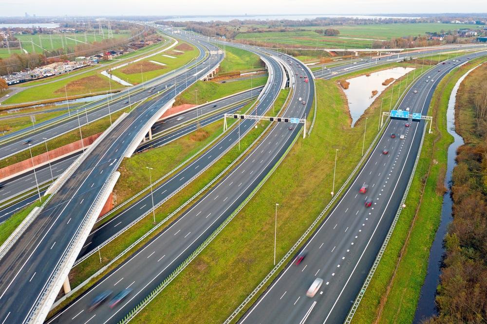 Plan de route van de roadtrip