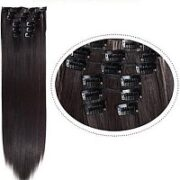 10. Synthetic Clip-In HairExtensions