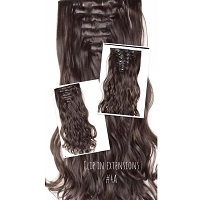 Wonder Hair Clip In Extensions #4A MAXISET