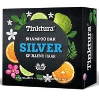 Tinktura Shampoo bar Silver Krullend haar