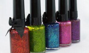 Glitter nagellak